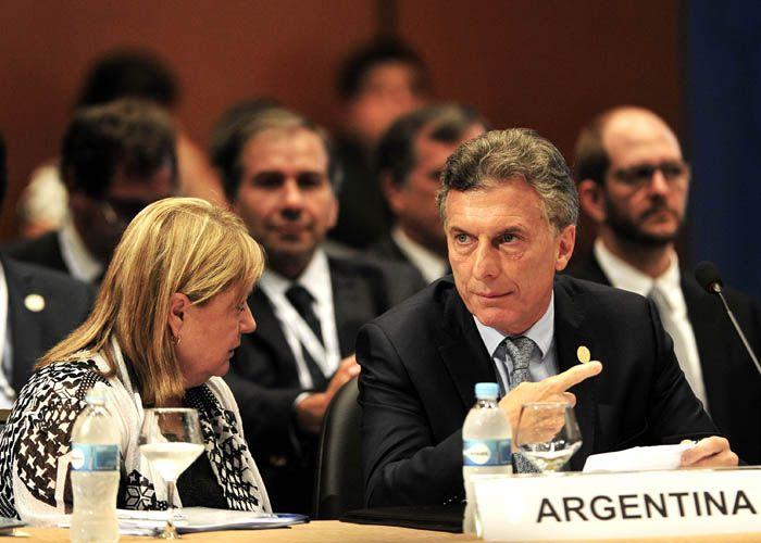 Macri pidió a países miembros del Mercosur que exijan a Maduro liberar presos políticos. (Foto:Télam)
