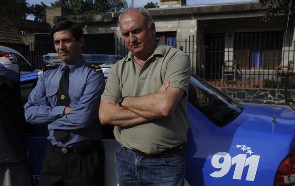 Pronta respuesta. El comisario de Villa Amelia y el jefe comunal se mostraron satisfechos por ser escuchados.