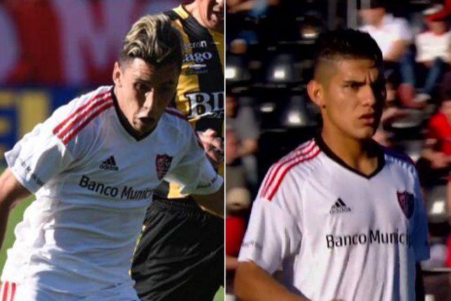 Los pibes.Torres y Cabrera