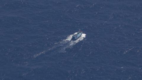 Los expertos confirmaron que los tres grandes objetos detectados no tienen relación con el avión.