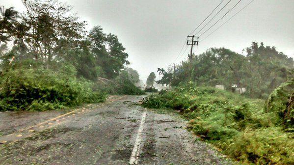 El huracán ya impactó en las costas mexicanas.