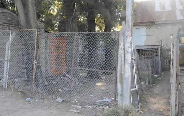 El lugar del homicidio.  La modesta vivienda de Ayacucho al 6700