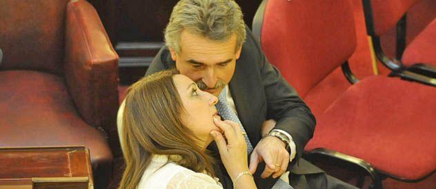 Mónica Fein y Agustín Rossi protagonizaron un duelo verbal por la asistencia financiera de la Nación a la ciudad. (Foto: A. Amaya)