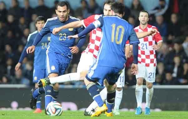 Argentina venció pero lo más trascendente fue volver a ver juntos a Messi y Tevez.