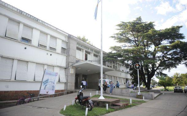 En terapia. El paciente fue trasladado al hospital Eva Perón.