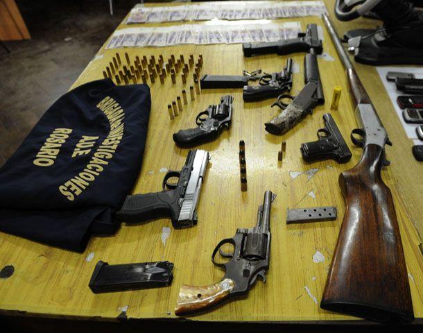 Lifschitz advirtió sobre la gran circulación de armas halladas en diversos operativos policiales. (Foto: V. Benedetto)