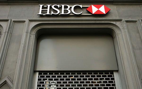 Conexión suiza. Fachada de la sucursal suiza del banco HSBC.