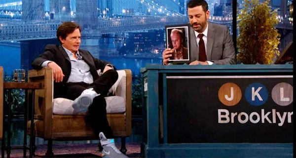 Michael Fox probó el primer par de zapatillas de Volver al Futuro que se atan solas