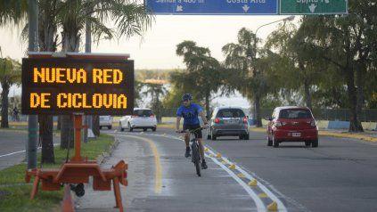 MOVILIDAD. Los rosarinos incrementaron el uso de bicicletas durante esta etapa de pandemia.