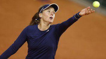 La Rusita Podoroska jugó en un gran nivel en Roland Garros.