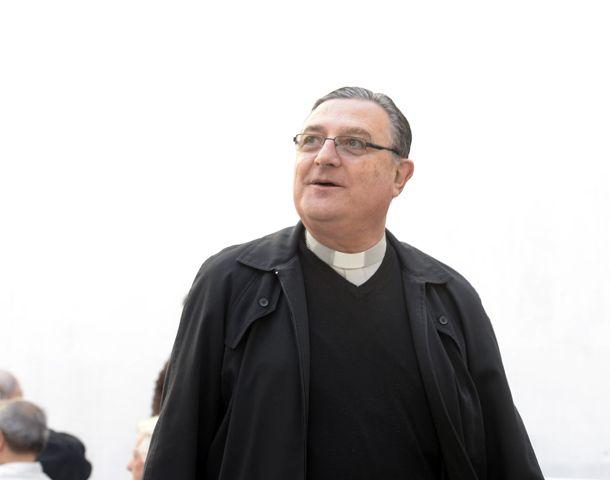 El arzobispo tiene una cargada agenda de trabajo.