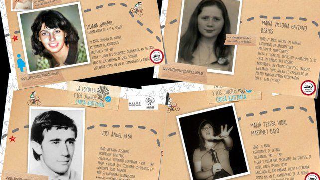 """""""Postales de la memoria"""" invita a recorrer 29 jóvenes vidas arrebatadas por la dictadura."""
