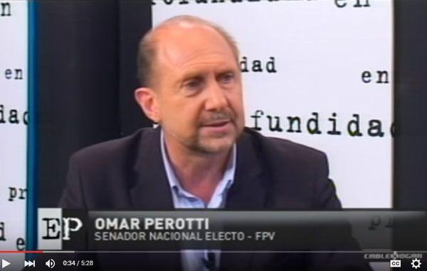 Omar Perotti pide que Daniel Scioli acuerde con el massismo para derrotar a Macri