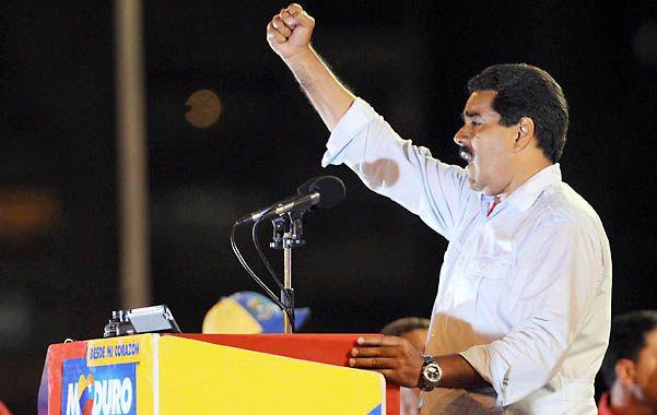 Discurso. Maduro dio un discurso anoche
