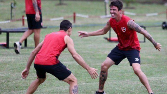 Newells sigue entrenando y se prepara para el amistoso ante el tatengue