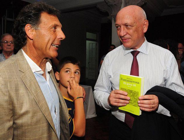 La colección de libros de Fontanarrosa se presentó en Lavardén