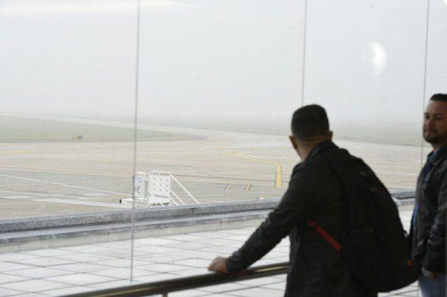 Esta mañana numerosos pasajeros quedaron varados en Fisherton.