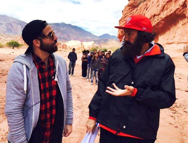 La grabación realizada en Salta será presentada en el primer programa de Bailando por un sueño 2015.