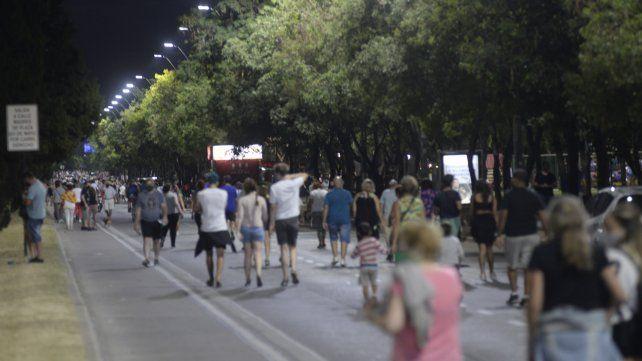 La zona libre de automóviles irá por avenida San Martín desde Seguí hasta Uriburu de 17 a 21.