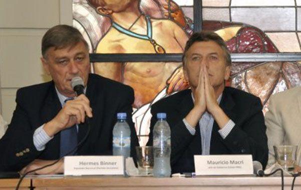 ¿Más cerca? Binner y Macri