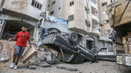 El conflicto entre israelíes y Hamas ya provocó casi 60 muertos.
