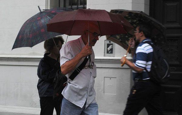 Desde las últimas horas de ayer el pronóstico indicaba la presencia de lluvias y tormentas intensas.