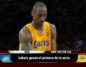 NBA: los Lakers vencieron a Denver con 40 puntos de Kobe Bryant