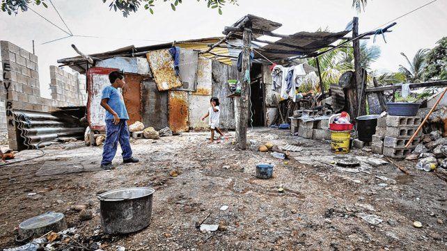 Argentina. El país tiene a un 35% de su población en la pobreza.