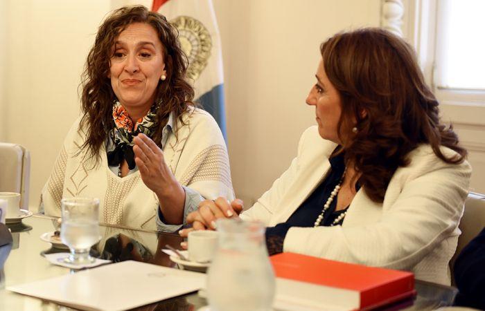 Tras la reunión con Fein, Michetti dijo que Macri luchará contra el narcotráfico