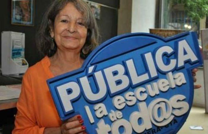 Mary Sánchez fue la primera mujer en ocupar un cargo en la mesa directiva de la CGT.
