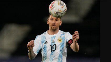 Lionel Messi, el capitán del seleccionado argentino de fútbol que quiere alzarse con la Copa América en Brasil.