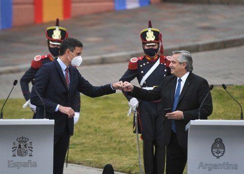 Alberto Fernández destacó que España nunca dejó de invertir en la Argentina