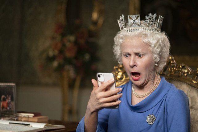 Tracey Ullman interpreta a la reina Isabel