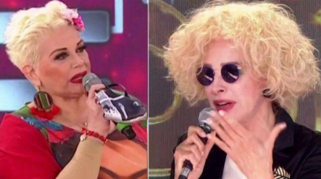 Carmen Barbieri y Nacha Guevara protagonizaron un momento de mucha tensión en el reality.