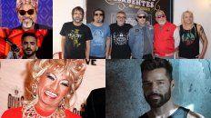 Carlinhos Brown, Maluma, Celia Cruz, Ricky Martin y Los Auténticos Decadentes, entre otros artistas con hits carnavaleros.