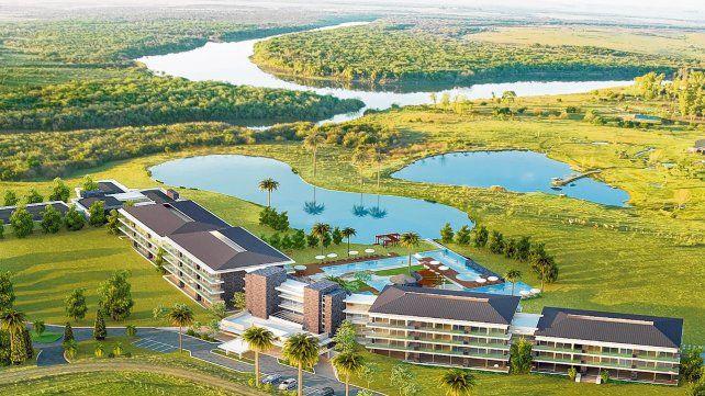 Relax y diversión junto al río. Altos del Arapey inauguró en 2011 su propio pozo termal