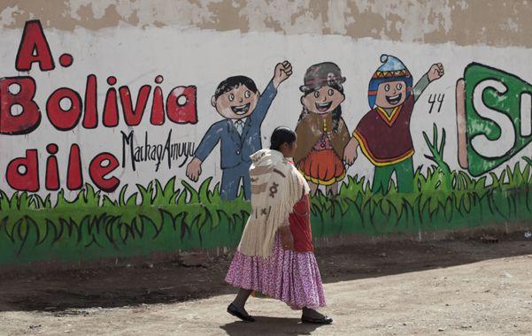 A votar. Los bolivianos deciden a través de un referéndum si habilitan a Evo Morales a un cuarto mandato.