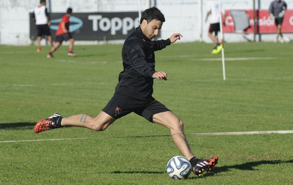 Nacho Scocco volverá a calzarse la camiseta rojinegra el domingo en La Bombonera.