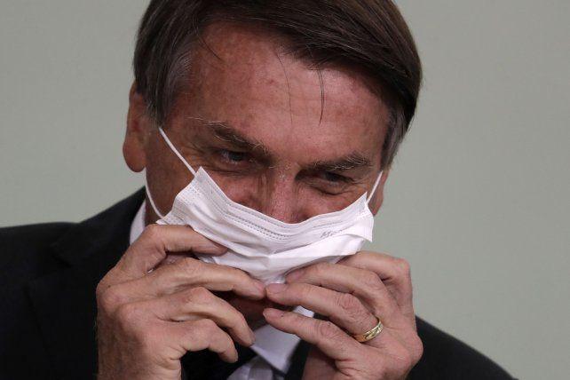 Bolsonaro siempre tuvo una actitud displicente frente a la pandemia y al virus del Covid.