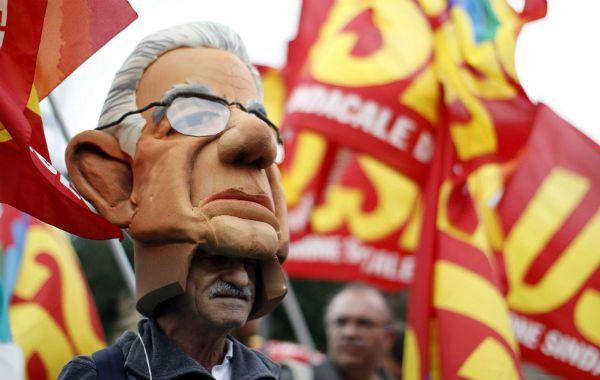 En España hubo marchas por la crisis y el alto desempleo
