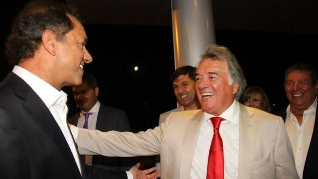 El gobernador de Buenos Aires y el sindicalista