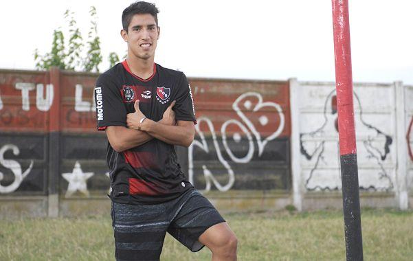 Pelota dominada. El volante viene de hacer un gol ante Central Córdoba. Foto: F. Guillen