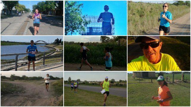 La maratón 2.0 fue corrida por medio millar de participantes este fin de semana en forma virtual en distintas localidades de nuestra provincia.