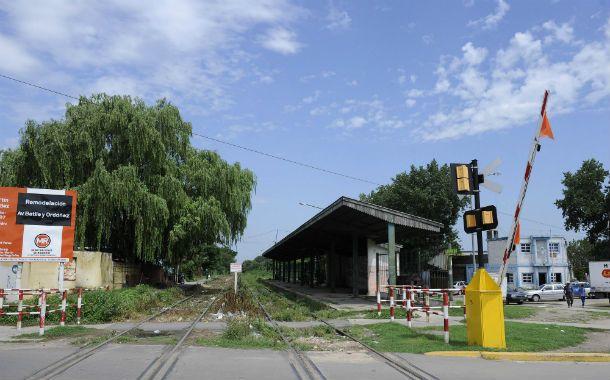 Apeadero. Así luce en la actualidad el sitio donde se emplazará la estación.