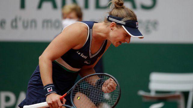 Nadia Podoroska saltó a la élite del tenis mundial el año pasado gracias a sus formidables semifinales en Roland Garros.
