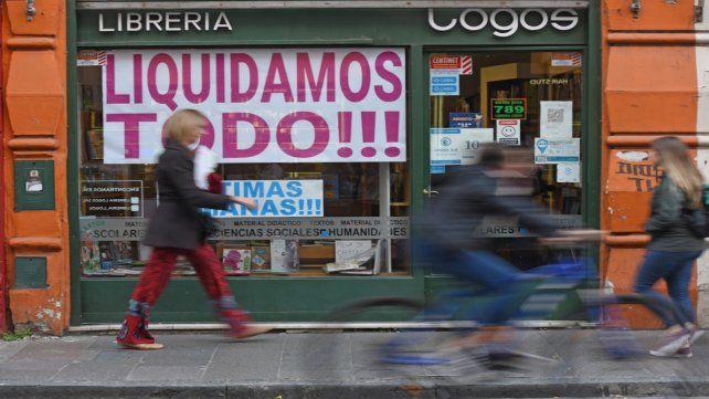 Cierre. Esta librería lleva más de 30 años en la ciudad de Rosario.