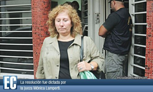 La jueza Mónica Lamperti no hizo lugar al pedido de la defensa.