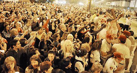 Cerca de 300 mil personas recorrieron el Vía Crucis del Padre Ignacio