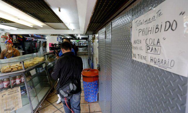 Asfixia. El gobierno bolivariano declaró la guerra a los panaderos.