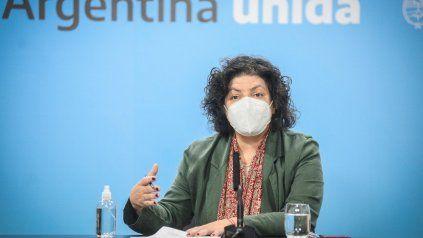 La ministra Vizzotti alertó sobre un crecimiento exponencial de los contagios en todo el país y pidió medidas focalizadas, intensivas y transitorias.